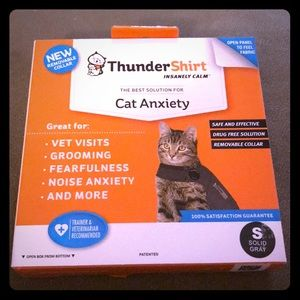 ThunderShirt for Cat Anxiety sz Small